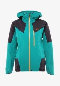 TOURING PROOF JACKET - Hardshell jacket - alpine green/acai