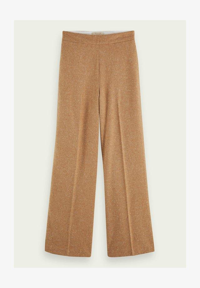 Pantalon classique - sand melange