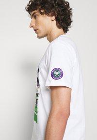 Polo Ralph Lauren - T-shirt imprimé - pure white - 3