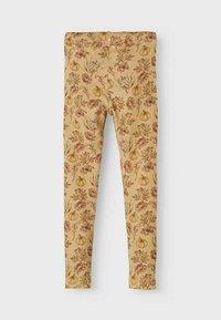Lil' Atelier - SLIM FIT - Leggings - Trousers - light brown - 1