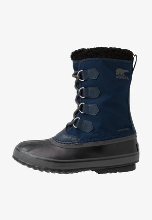 Winter boots - collegiate navy/black