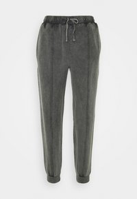 Topshop - ACID WASH  - Tracksuit bottoms - charcoal - 5