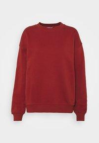 2nd Day - THINK TWICE - Sweatshirt - red ochre - 0