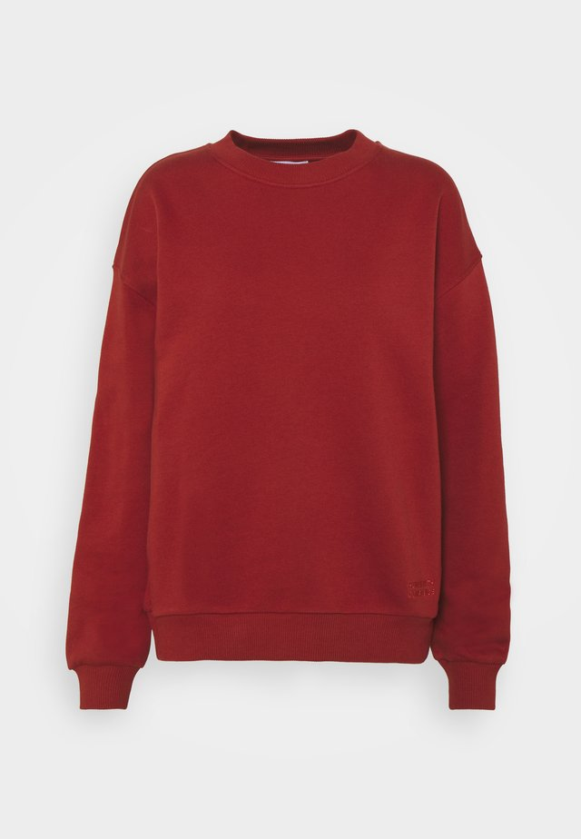 THINK TWICE - Sweater - red ochre