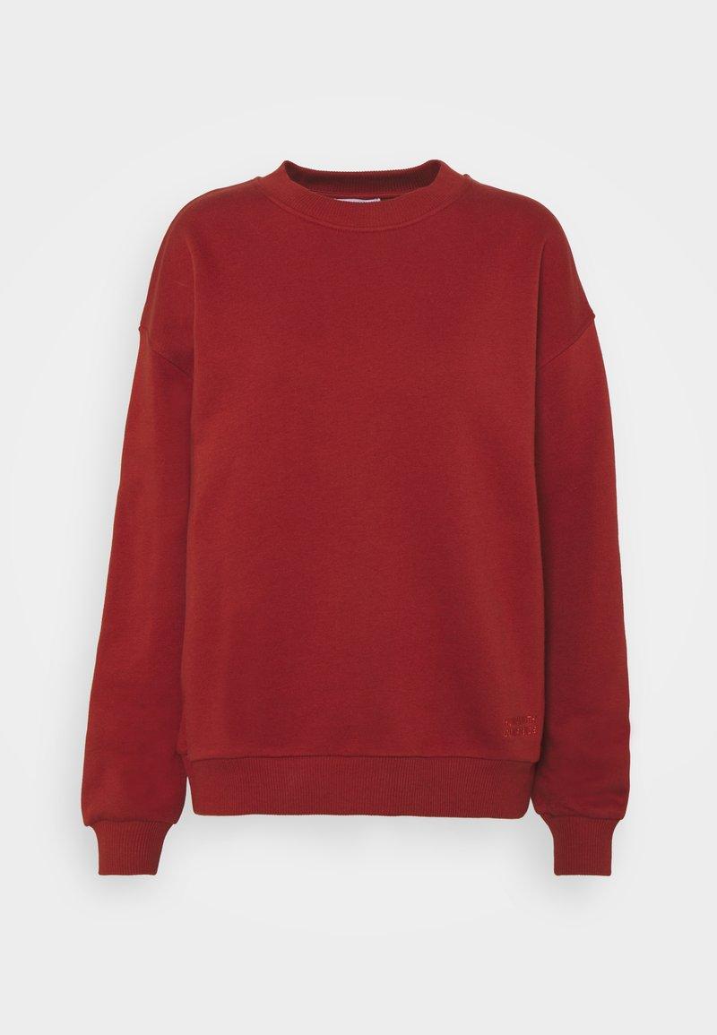 2nd Day - THINK TWICE - Sweatshirt - red ochre
