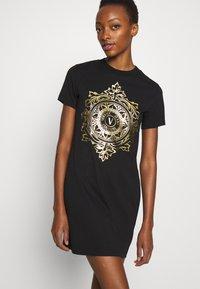 Versace Jeans Couture - DRESS - Jersey dress - black - 7