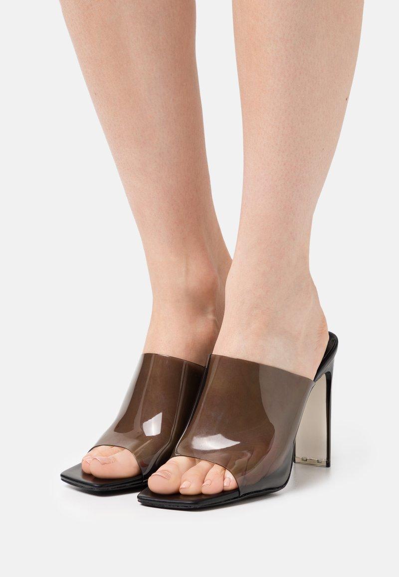 ALDO - YBENDAVIEL - Heeled mules - black