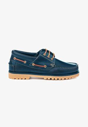 Zapatos con cordones - azul marino