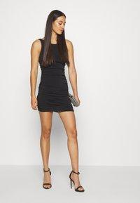 Miss Selfridge - BACKLESS DRESS - Shift dress - black - 1