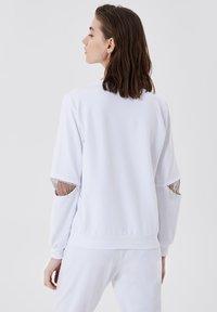 LIU JO - Sweatshirt - white with gemstones - 2