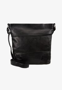 FREDsBRUDER - OH CROWNY - Across body bag - black - 5