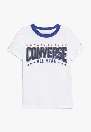 ALL STAR ARCH TEE - T-shirt print - obsidian