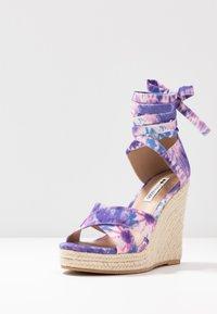 Even&Odd - Korolliset sandaalit - pink/blue - 4