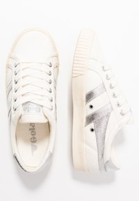 Gola - TENNIS MARK COX - Sneakersy niskie - off white/silver - 3
