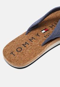 Tommy Hilfiger - BEACH - T-bar sandals - yale navy - 6