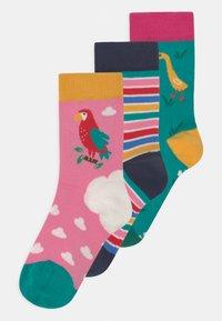 Frugi - ROCK 3 PACK - Socks - mid pink - 0