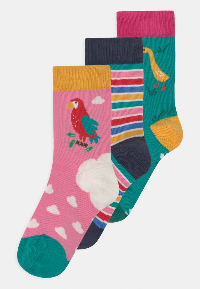 Frugi - ROCK 3 PACK - Socks - mid pink