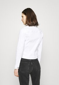 Tommy Hilfiger - JACKET - Denim jacket - white - 2