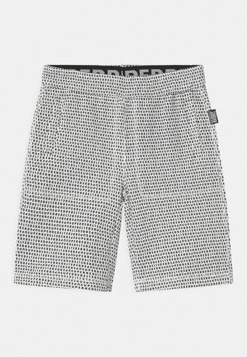 UNISEX - Sports shorts - black/white