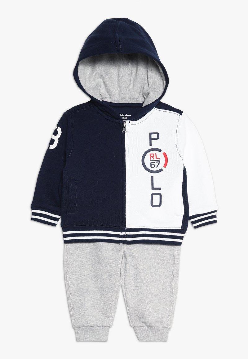 Polo Ralph Lauren - ATLANTIC HOOK UP SET - Huvtröja med dragkedja - newport navy/multi