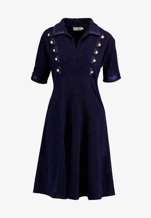 YOUNG LADIES DRESS - Abito a camicia - navy blue