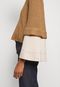See by Chloé - Maglione - brown/white - 5
