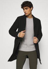 Selected Homme - SLHHAGEN  COAT  - Classic coat - black - 3