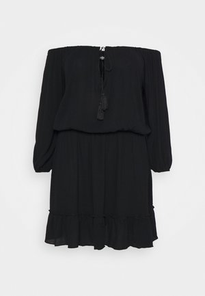 BARDOT TASSEL DRESS - Vardagsklänning - black