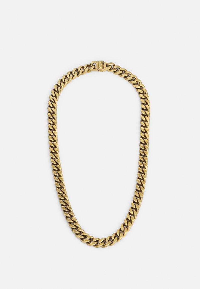 Guess - CURB UNISEX - Necklace - antique gold-coloured