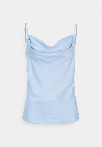 CLOSET COWL NECK BLOUSE - Top - blue
