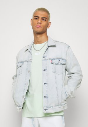 THE TRUCKER JACKET - Jeansjacka - spirit trucker