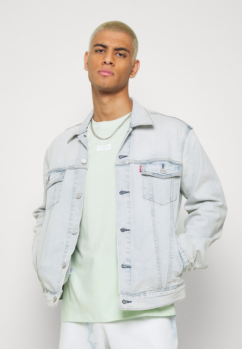 Levi's® - THE TRUCKER JACKET UNISEX - Spijkerjas - spirit trucker