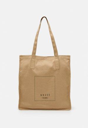 LOGO TOTE - Shopping bag - nature