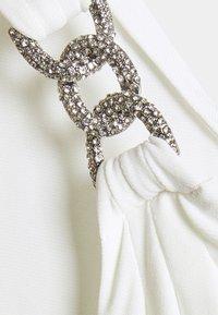 Lauren Ralph Lauren - CLASSIC LONG GOWN - Vestito di maglina - cream - 2