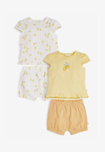 Shorts - yellow