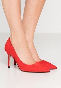 HUGO - INES  - Lodičky na vysokém podpatku - bright red - 0
