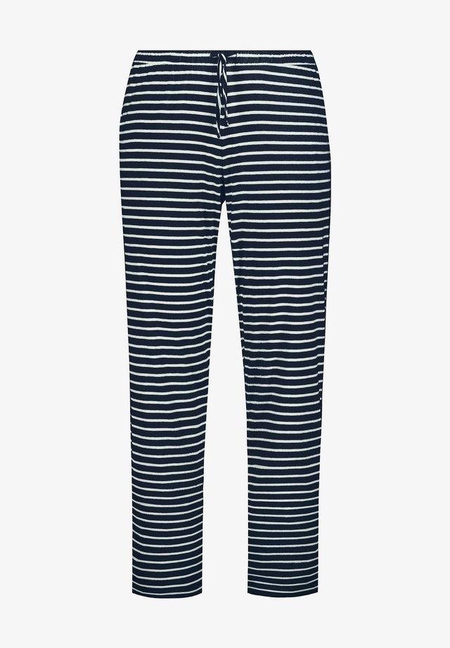 Pyjamabroek - bleu nuit mat