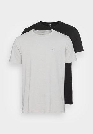 CREW 2 PACK - T-shirt basic - black combo