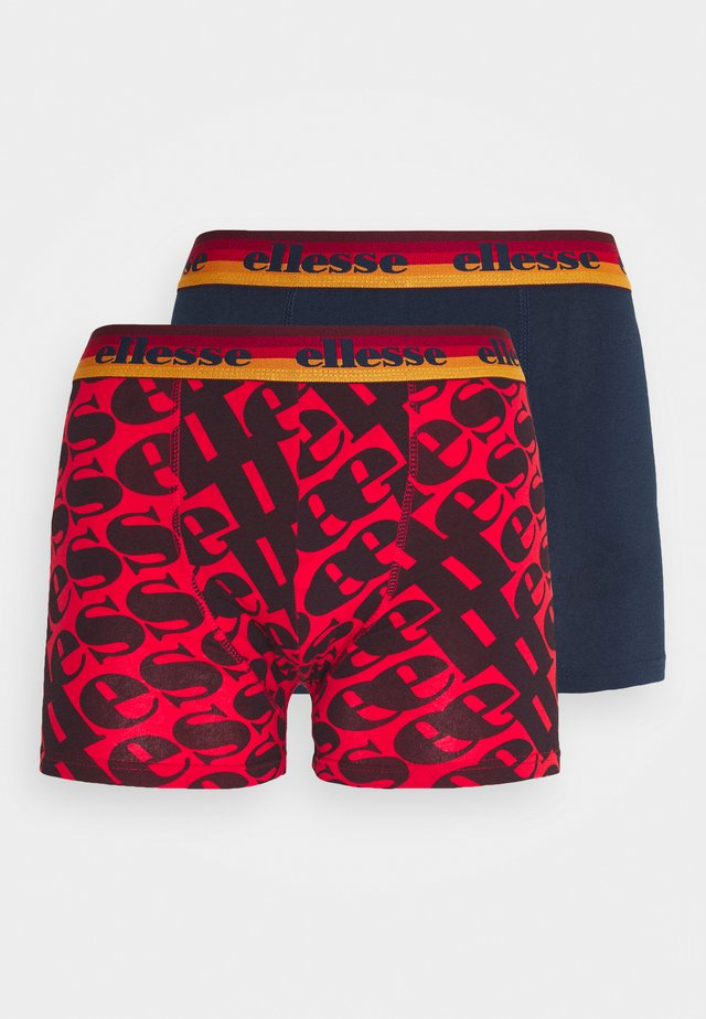 BOXERS 2 PACK - Panties - red/navy