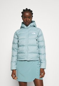 The North Face - HOOD - Down jacket - tourmaline blue - 0