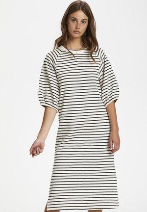 SLINGE - Day dress - whisper white w black