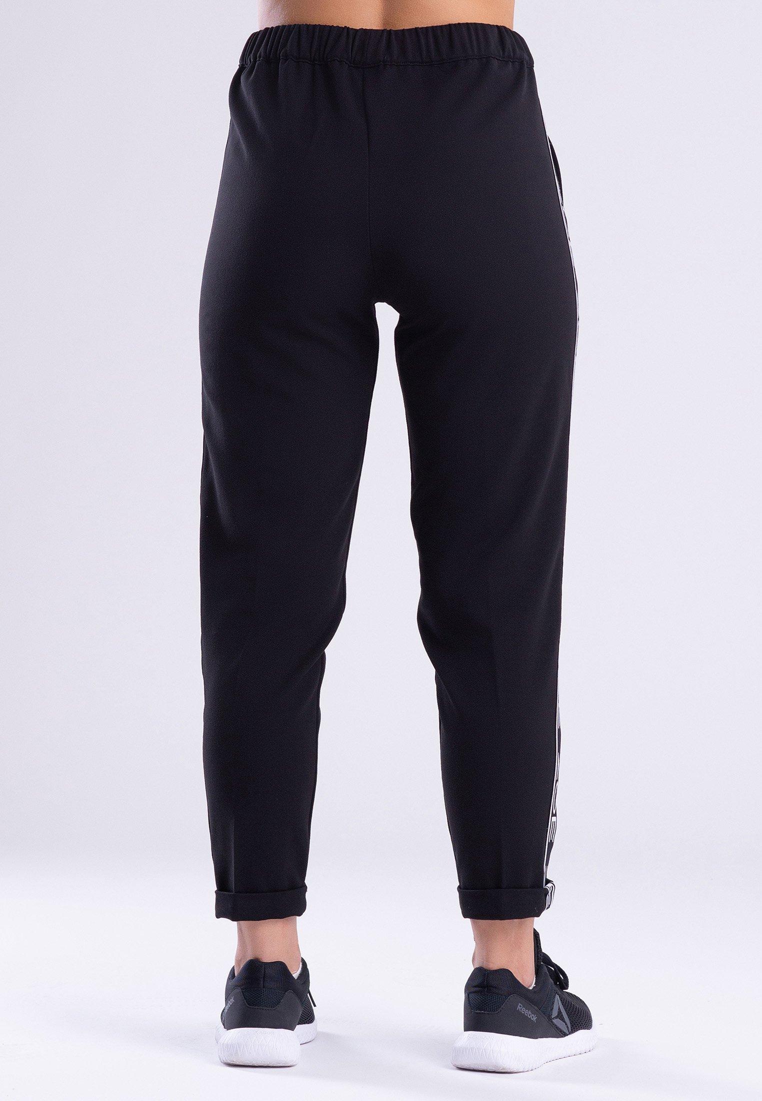 Zoe Leggings Fashion - Tracksuit Bottoms Black