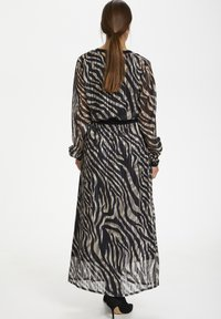 Kaffe - KAVENDA  - Button-down blouse - black zebra print - 2