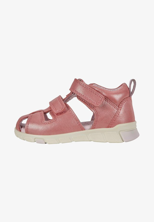 ECCO MINI STRIDE - Walking sandals - bubblegum