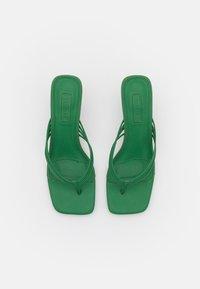 Topshop - NEEVA TOE THONG - T-bar sandals - green - 5