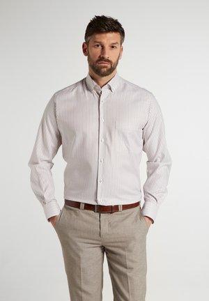 MODERN  - Shirt - beige/weiss