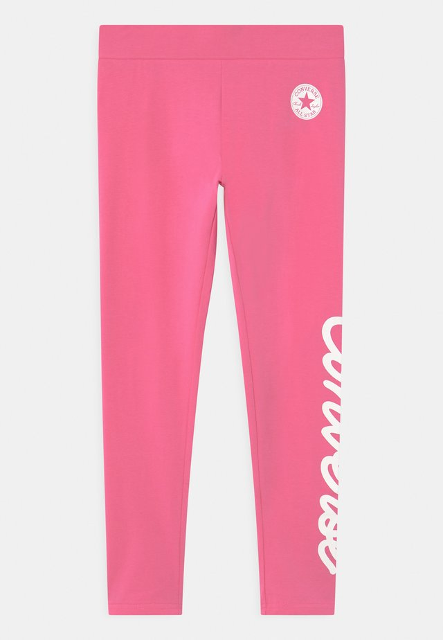 SIGNATURE CHUCK - Legíny - mod pink
