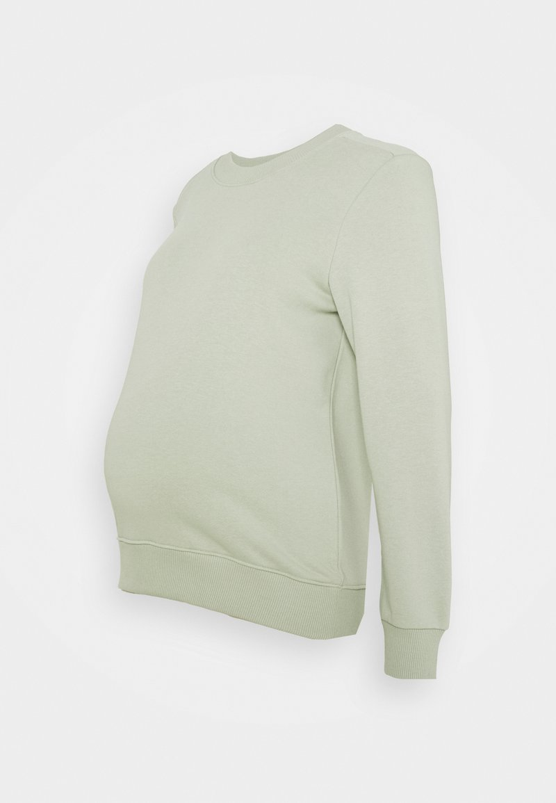 Pieces Maternity - PCMPIP - Sweatshirt - desert sage