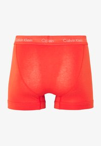 Calvin Klein Underwear - TRUNK 3 PACK - Pants - minnow/horoscope/inferno - 6