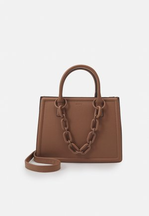 GALOASSI - Shopping bag - sienna